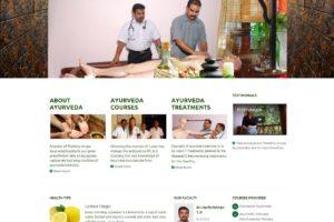 Ayurveda training Website kerala