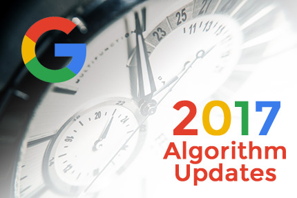 Google Algorithm Updates 2017